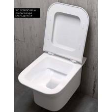 Стенна Лесно Почистваща се Тоалетна PRUA
