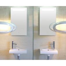 Огледало с Полиран Ръб и ЛЕД Осветление 40x70см. BOWL+