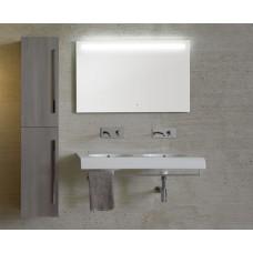 Огледало с Полиран Ръб и ЛЕД Осветление 110x70см. BOWL+